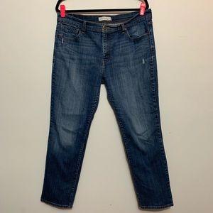 Levi's 505 Straight Leg Jeans, 10.5 Inch Rise
